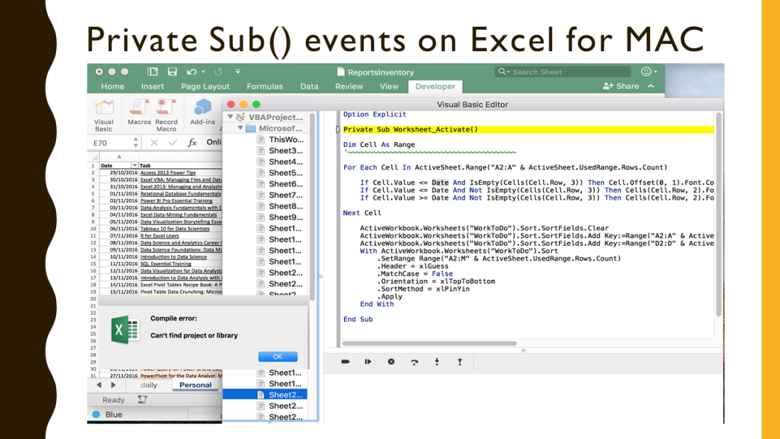 6 Major Differences between Excel 2016 for Windows and Excel